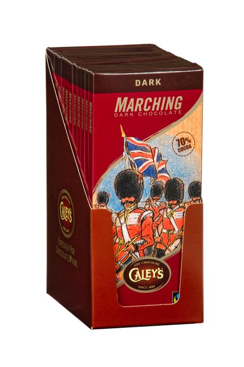 Marching Chocolate – 12 x 100g Dark